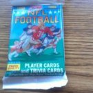 1989 SCORE FOOTBALL CARDS SEALED PACK FROM FRESH BOX-POSS AIKMAN- SANDER ROOKIES