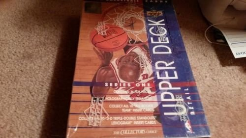 1993-94 UPPER DECK BASKETBALL SER 1  SEALED RETAIL BOX POS.MICHAEL JORDAN INSERT
