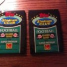 1992 TOPPS STADIUM CLUB FOOTBALL CARDS HIGH SERIES QTY 1 PACK- POSS FAVRE ROOKIE
