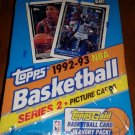 1992-93 TOPPS BASKETBALL CARD BOX SER.2 POSSIBLE JORDAN CARDS+SHAQ GOLD ROOKIE