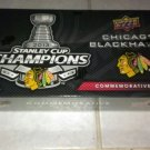 2013 STANLEY CUP CHAMPIONS CHICAGO BLACKHAWKS 30 CARD COMMEMORATIVE BOXED SET