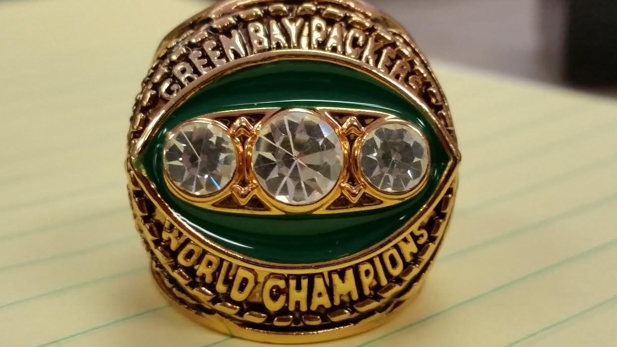 1967 GREEN BAY PACKERS  HIGH QUALITY CHAMPIONSHIP RING