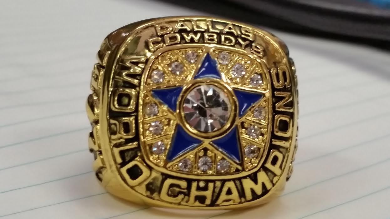 1971 DALLAS COWBOYS HIGH QUALITY CHAMPIONSHIP ,RING