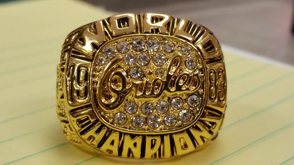 1983 BALTIMORE ORIOLES HIGH QUALITY RING