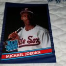 1990 MICHAEL JORDAN RATED ROOKIE 1986 DONRUSS STYLE ORIGINAL BASEBALL CARD