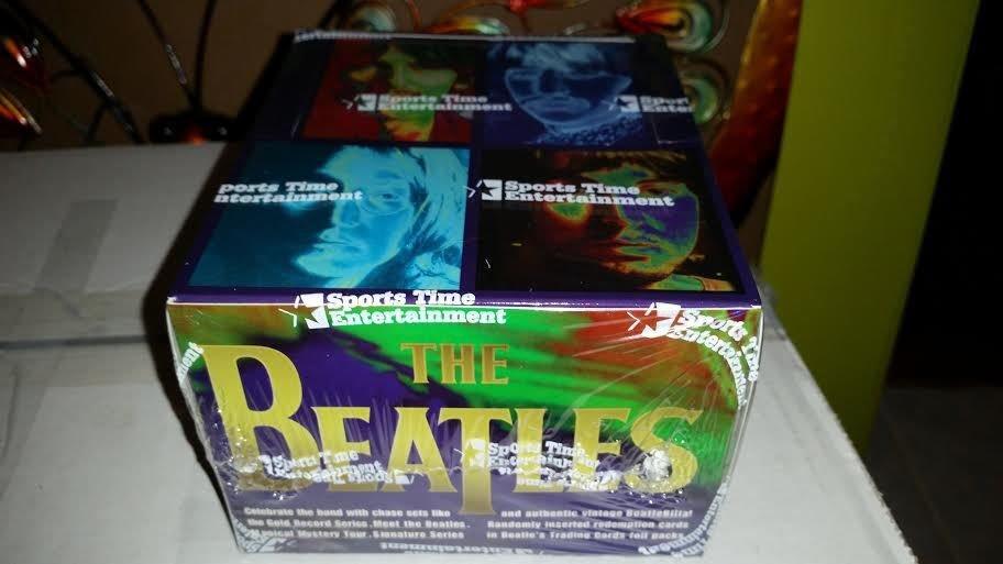 THE BEATLES RARE 36 PACK BOX-1996--POSS.INSERTS GOLD RECORD SERIES-MEMORABILIA