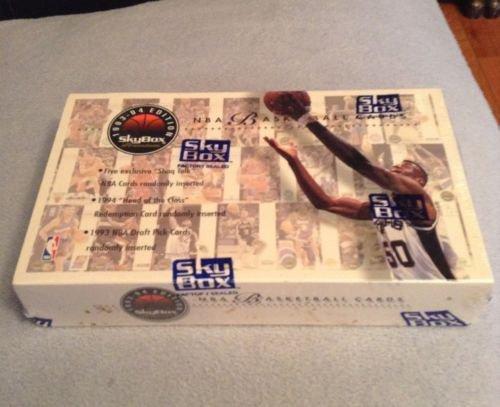 1993-94 SKYBOX PREMIUM SER.1 BASKETBALL CARD BOX-POSSIBLE JORDAN CARDS=INSERTS