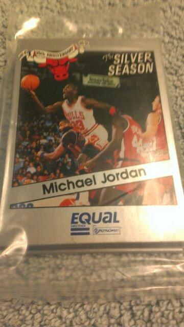 1990-91 RARE MICHAEL JORDAN- BULLS EQUAL STAR 16 CARD 25TH ANNIVERSARY SET QTY.3