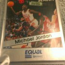 1990-91 RARE MICHAEL JORDAN- BULLS EQUAL STAR 16 CARD 25TH ANNIVERSARY SET QTY.3