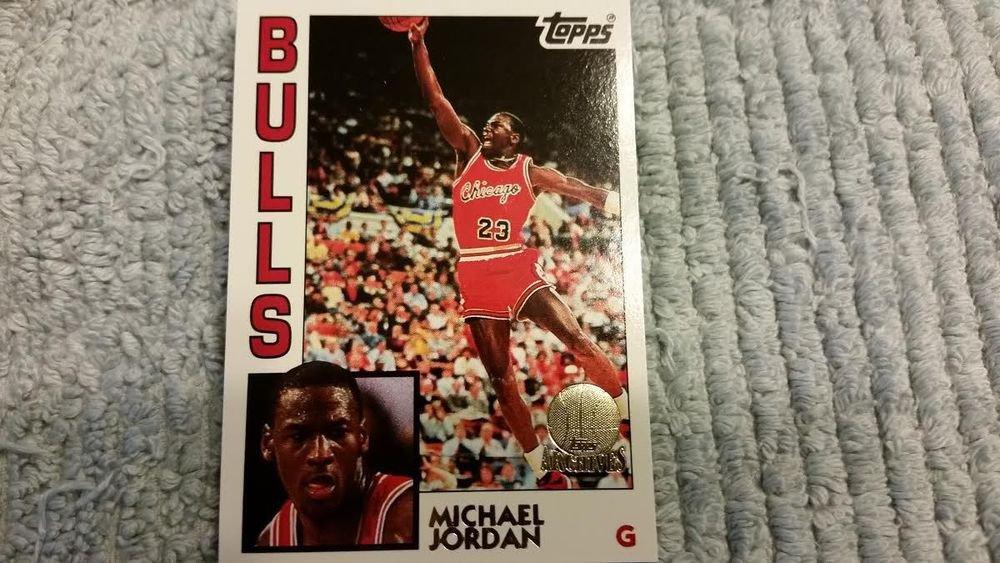 1992-93 TOPPS ARCHIVES BASKETBALL ROOKIE RARE GOLD MICHAEL JORDAN 86-87 FLEER