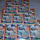 1990 TOPPS CHICAGO WHITE SOX FRANK THOMAS ROOKIE BASEBALL CARDS QUANTITY 5