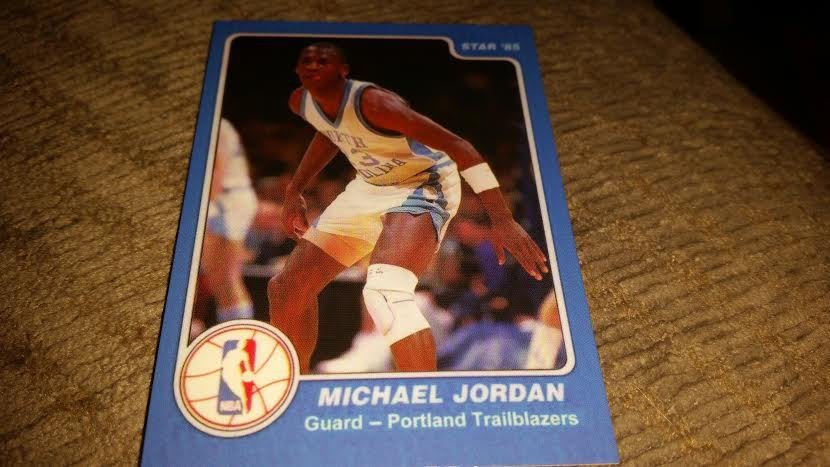 1985 Star Company Michael Jordan Rookie Rare Error