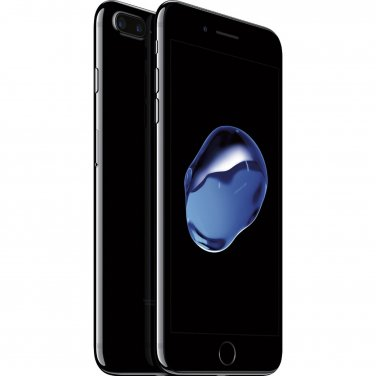 Apple iPhone 7 Plus 128GB Unlocked GSM/CDMA Quad-Core Phone w/ 12MP - Jet Black