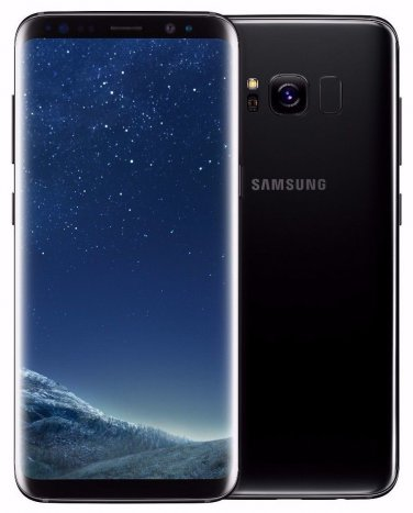 "Samsung Galaxy S8+ Plus SM-G955F (FACTORY UNLOCKED) 6.2"" 64GB Midnight Black"