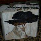 TATTOO handbag purse KLIMT pocketbook WOMAN LRG hat
