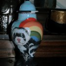 Custom X SMALL Pet urn cats ferret cremation BIRD ashes Multiple small pets urns