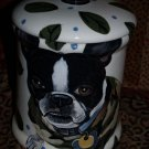 Custom Cookie Jar Boston terrier any BREED Large Treats