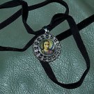 TATTOO GUARDIAN ANGEL Pendant DOG NECKLACE raRe protect