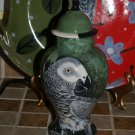 Custom Memorial CERAMIC SMALL Pet urn for bird birds parrot small pet urns