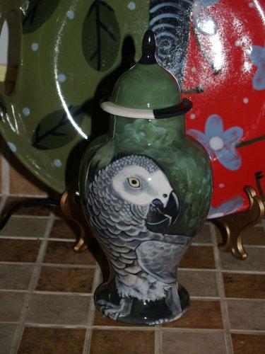 Custom Memorial CERAMIC SMALL Pet urn for bird birds parrot small pet urns