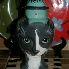 Custom CERAMIC SMalL Pet urn urns CAT ashes grey cat PETS Cats ALL breeds kitty