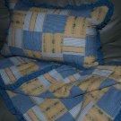 Designer CHIC cotton BABY Comforter and pilow set boys