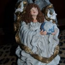 June McKenna ANGEL figurine Signed Christmas ANGEL 1991