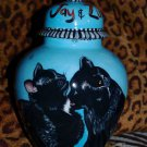 Custom Pet urn for CATS ashes Cat cremation urn SMALL