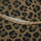 ITALIAN Designer cording trim 1 1/4 YARDs GOLD PEACH
