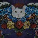 CUSTOM Memorial dog cat Painting of your pet 16 x 20