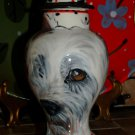 Custom ceramic Pet urn for ashes scotty dog urn small pet memorial sm jar ash