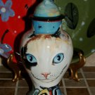 Custom CERAMIC SMALL Pet urn for CAT ashes Calico CAT PETS Cats ALL breeds DOD