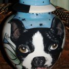 Custom Boston Terrier Pet URN DOG cremation ANY BREED m