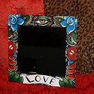 TATTOO mirror sailor Roses Sparrow LOVE Banner EYE RaRe