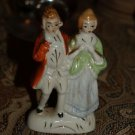 Antique Colonial couple FIGURINE made in JAPAN VINTAGE