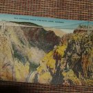 1943 Vintage linen style POSTCARD Colorado Royal Gorge