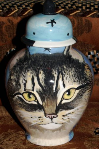 Custom Pet urn for ashes DOG Cat cremation urn SMALL