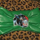 TATTOO handbag purse Sailor PANTHER CLUTCH Green