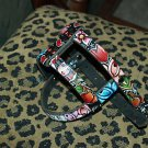 Tattoo Leather DOG HARNESS anchor skull SPARROW cherry