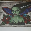 Small Limited Edition s/n Tattoo BRIDE of Frankenstein print from the artist