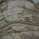 ITALIAN Designer cording trim 1 1/2 YARDs beige cream