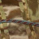 ITALIAN Designer cording trim 1 1/2 YARDs BEAUTIFUL !!!