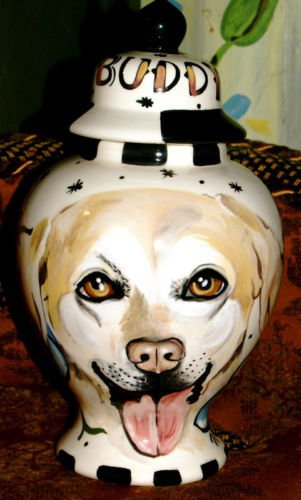 Custom ANY BREED Pet DOG urn cremation Golden Retriever