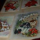 Vintage Greeting cards 1950s SCRAPBOOK Valentines Christmas Anniversary Epherma