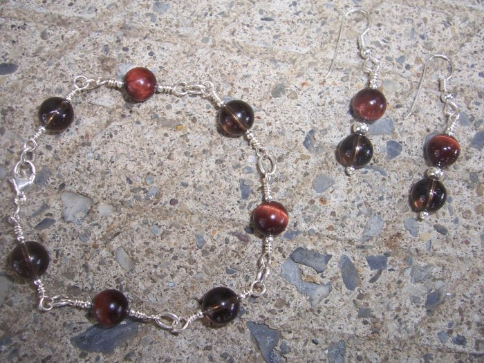 Red Tiger's Eye and Blackstone