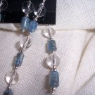 Kyanite and Crystal Quartz bracelet by A Touch of Earth