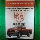 2003 DODGE RAM SERVICE REPAIR SHOP MANUAL ON CD 5.9L CUMMINS DIESEL D