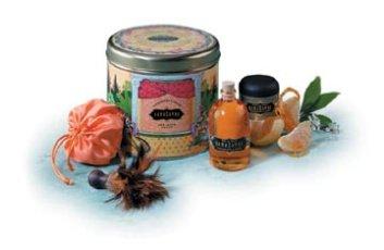 Treasure Trove Tangerine & Cream