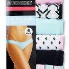 JoeBoxer Woman Bikinis cotton sz 6 colorsMulti