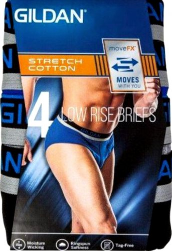 Gildan low rise brief men`s 3-pack size Small bikinis